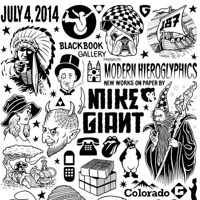 Mike Giant, flash, illustration