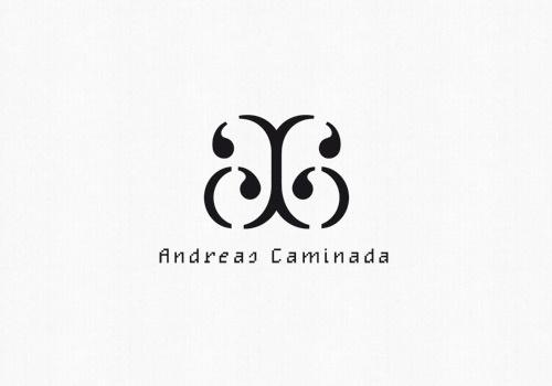 Andreas Caminada : Remo Caminada – graphic design #logotype #serif #monospace #black #pixel #identity #type