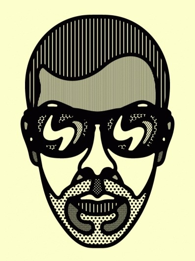 Craig Redman » Portraits #vector #illustration #redman #face #character #craig