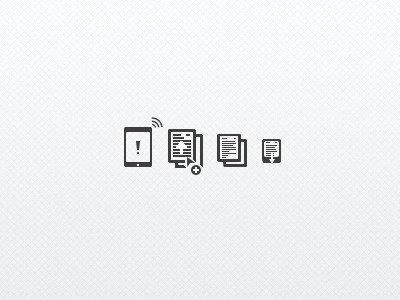 Paper check #eletronic #devices #icons #web #paper