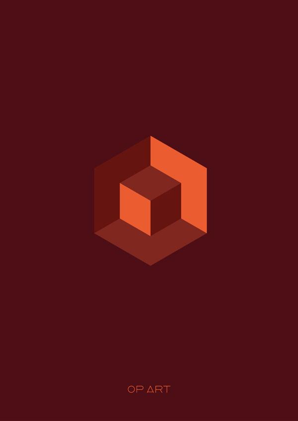 OP-ART #minimalistic #design #graphic #posters #minimal #poster #minimalist
