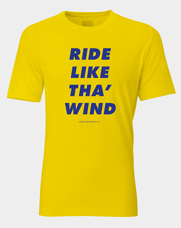 Yorkshire In Yellow A.N.D. Studio #design #graphic #shirt #yorkshire #tee #fashion #cycling #tdf #style #typography