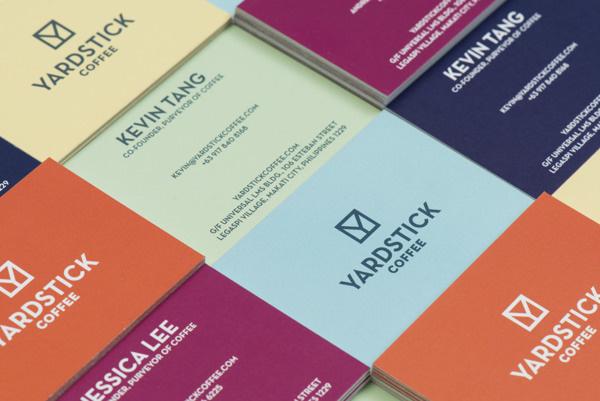 Yardstick Coffee (Branding) on Behance #coffee #card #branding #business