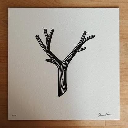 Baubauhaus. #stick #blackandwhite #twig