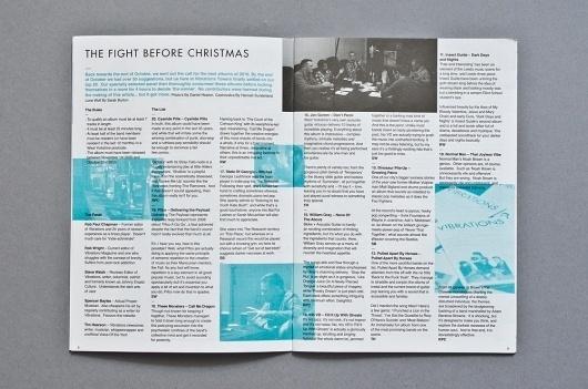 Vibrations December 2010 | Catalogue / Bench.li #layout