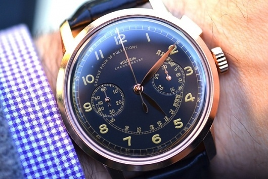 Vulcain 50s Presidents Chronograph Heritage Watch   Hypebeast #fashion #design