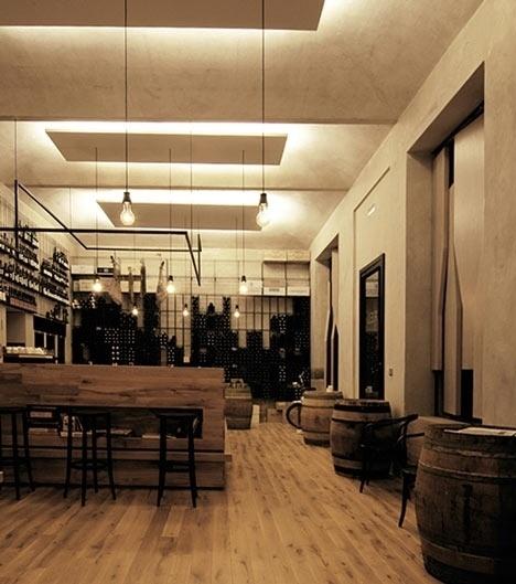 Red Pif Restaurant & Wine Shop by Aulík Fišer Architekti « SoFiliumm