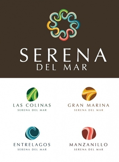 +++SERENA DEL MAR+++ on the Behance Network #brand #mar #serena #caf