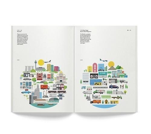 Tumblr #print #color #spread #illustration #editorial