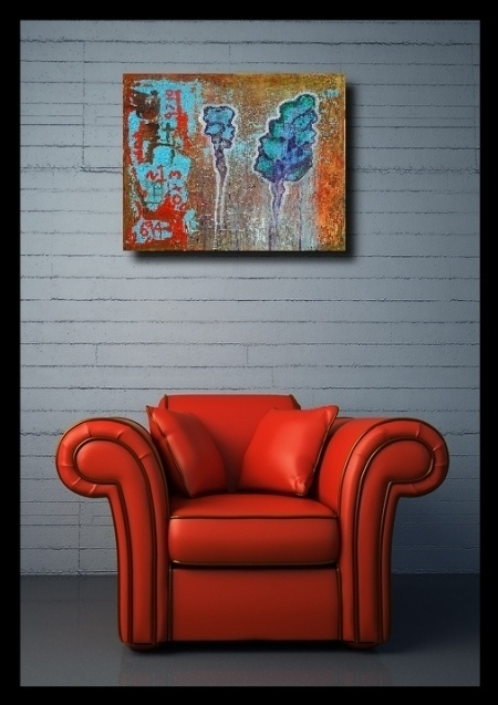 25 nonfigurative paintings – the abstract paintings in the interior #nonfigurative #abstract #painting #paintings