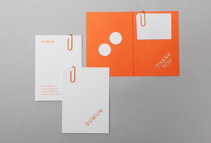Suwun by Patrick Fry #stationary #print #branding