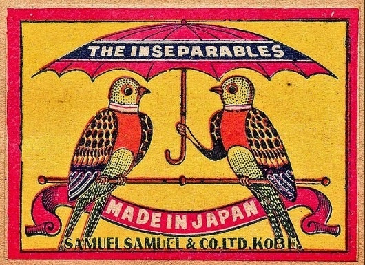 Vintage Packaging: Matchbox Labels - TheDieline.com - Package Design Blog #weird