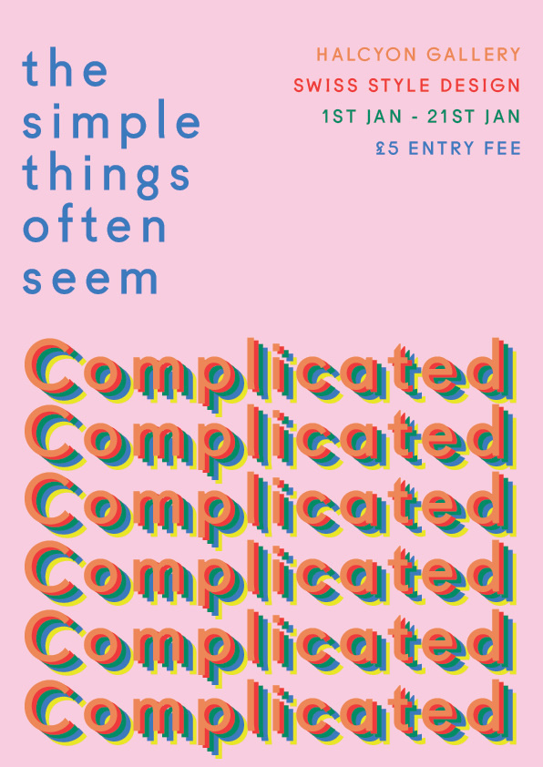 #simple #complicated