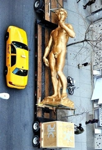 FFFFOUND! | tumblr_m0r7jrY5vg1r6nnf9o1_500.jpg (500×736) #york #sculpture #david #new