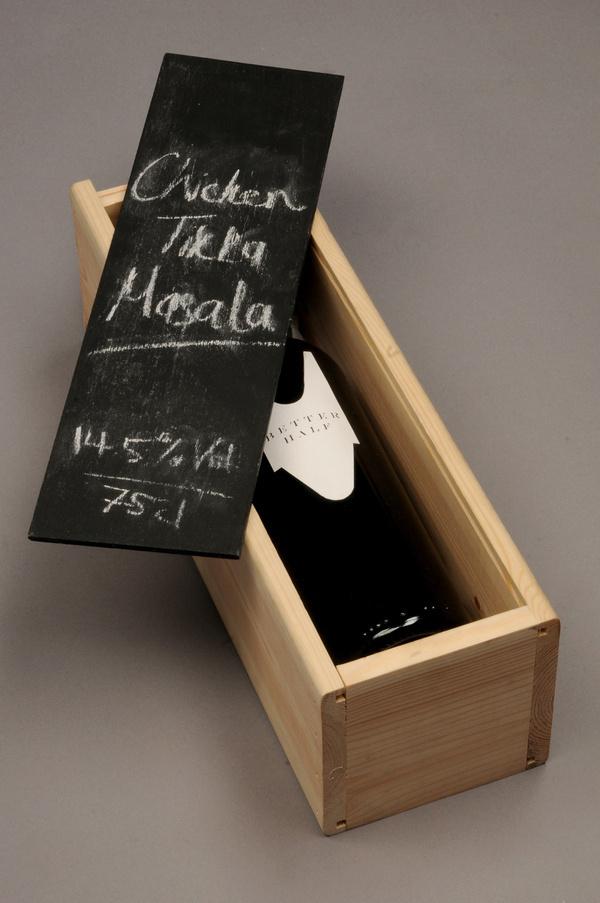 Better Half Wine Packaging #packaging #design #graphic