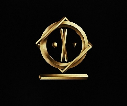 P O W E R | 2 0 1 2 on the Behance Network #gold #typography