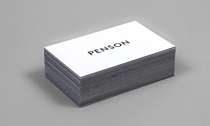 Penson Group Brand Identity designed by She Was Only #only #group #penson #brand #identity #was #she
