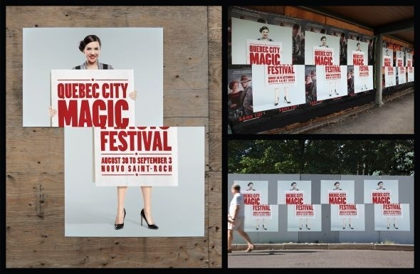 Quebec City Magic Festival: Sliced Girl #magic #poster