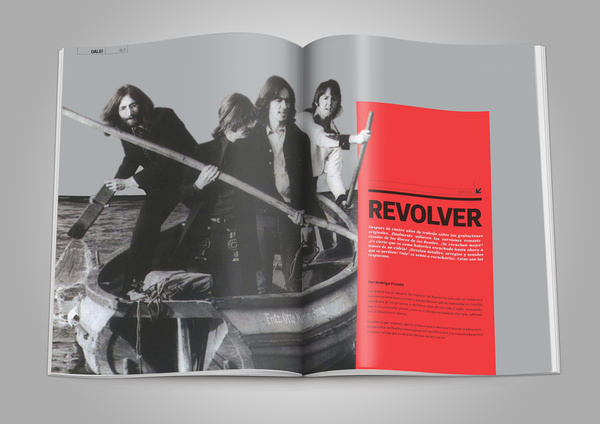 REVISTA DALE! on Behance #magazine