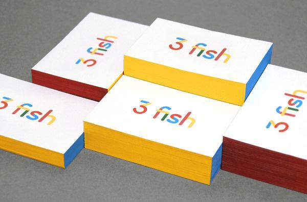 3 fish in a tree Daniel Buxton #design #graphic #identity