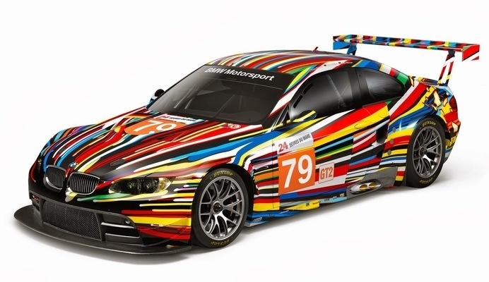 #bmw #40years #lines #colors #jeffkoons