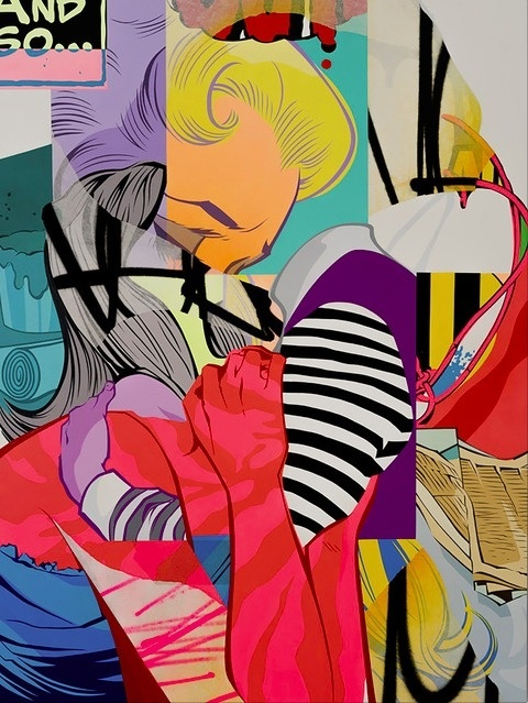 Pose | PICDIT #pose #painting #artist #comic #paint #art