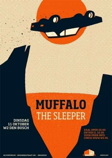 GigPosters.com - Muffalo - Sleeper, The #muffalo #car #poster #40rovers