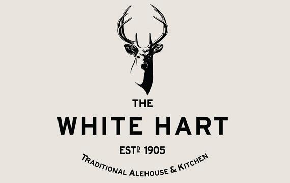 The White Hart Branding #logo #brand #design