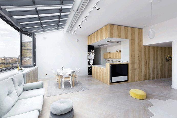 Onyx Moon Loft in Prague by A1 Architects