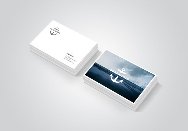 Seafactor Identity, Branding, Business Cards
