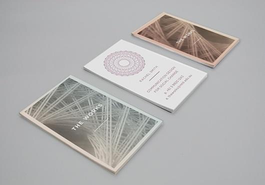 THE WORKS IDENTITY - Vanessa Vanselow #business #branding #stationary #card #photography #identity #logo #letterhead