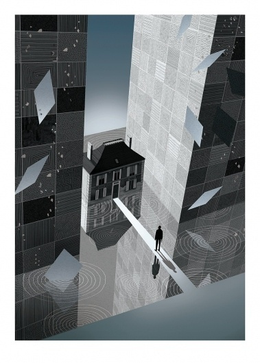 BAFTA 2011 Program Cover - Inception.