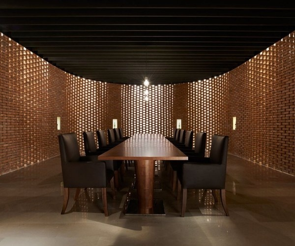 CJWHO ™ (Asterisk by SAKO Architects) #design #interiors #landscape #photography #architecture #china #beijing #winery