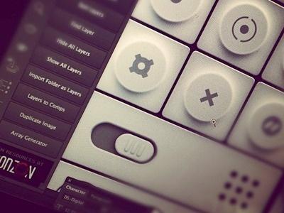 Minilightuidribbblepreview #user #interface