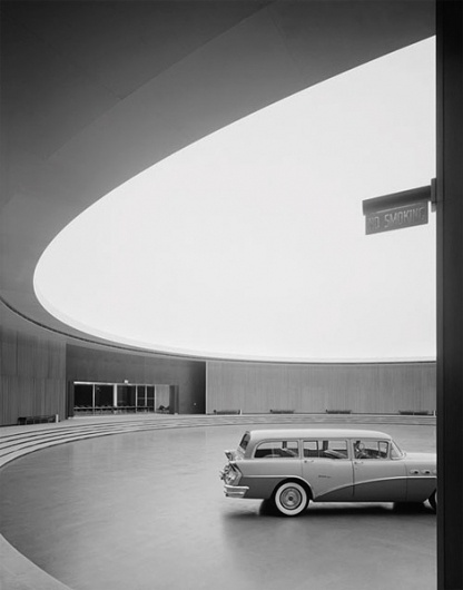 Ezra Stoller at iainclaridge.net #saarinen #ph #interiors #photography #architecture