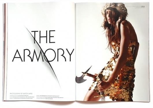 alef_armory.jpg (JPEG Image, 821x580 pixels) #design #graphic #magazine #typography