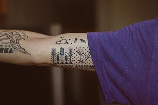 CJWHO ™ (Minimal Tattoo for Dad)