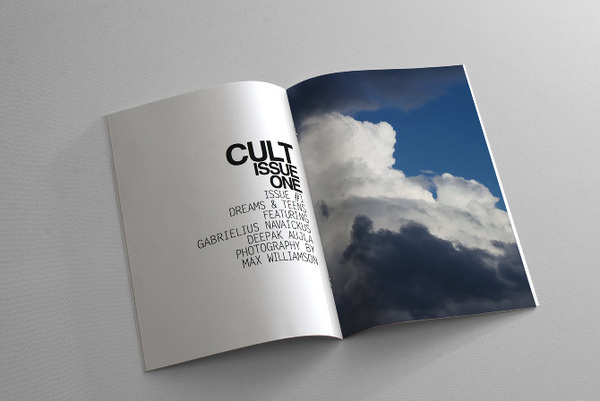 CULT Magazine #page #design #graphic #layout #magazine #typography