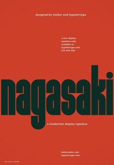 Nagasaki (after Crouwel)   Flickr - Photo Sharing! #muller #flickr #crouwel #hello #nagasaki