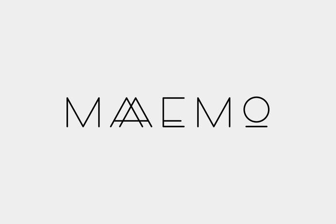 Maaemo logo designed by Uniform