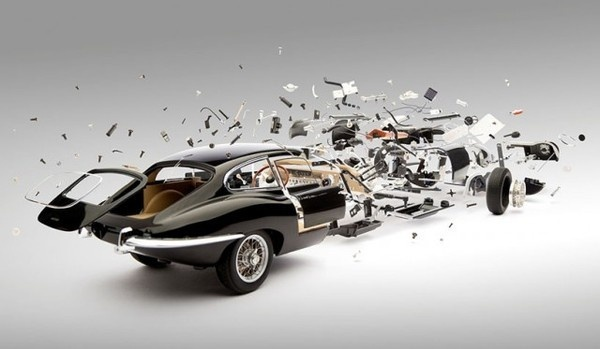 Exploded Cars by Fabian Oefner13 #explosion #car #art