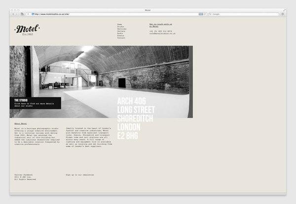 Motel website #website #design #web