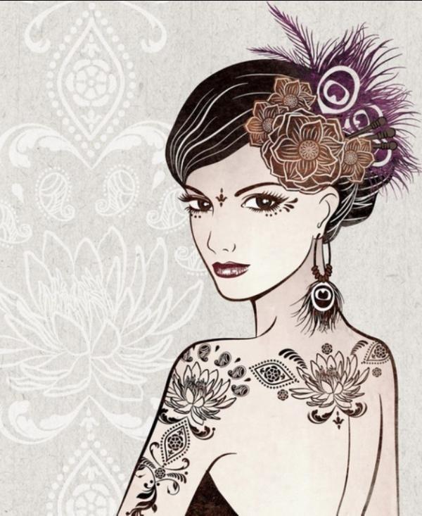 Illustrations by Vivian Lau #lau #illustrations #vivian
