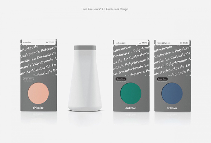 Drikolor by Inhouse #packaging #print #design