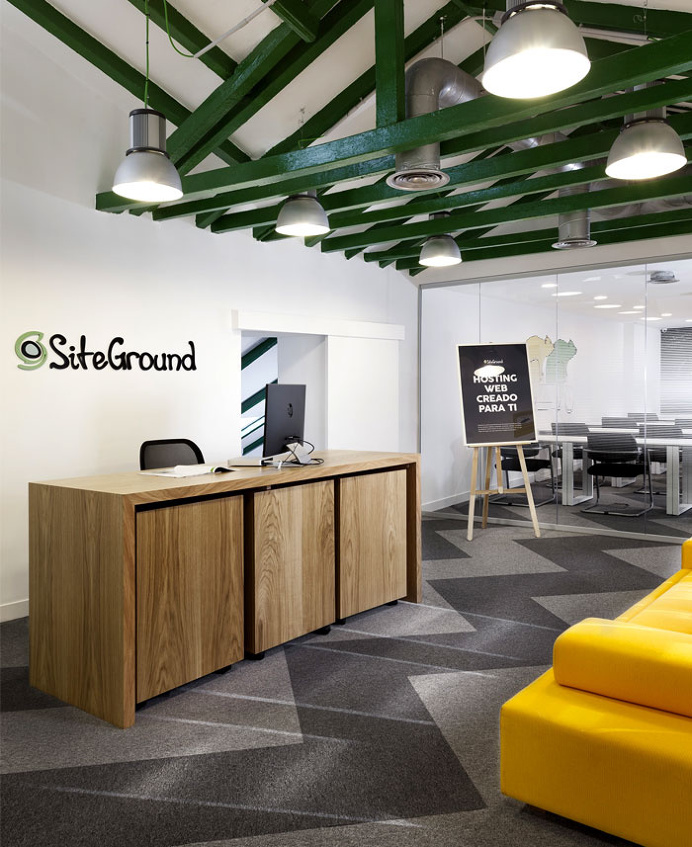 SiteGround Office Space in Madrid - #office, #interior, #decor