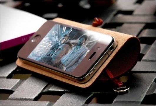 Piccsy :: IPHONE LEATHER ARC COVER | BY EVOUNI #iphone