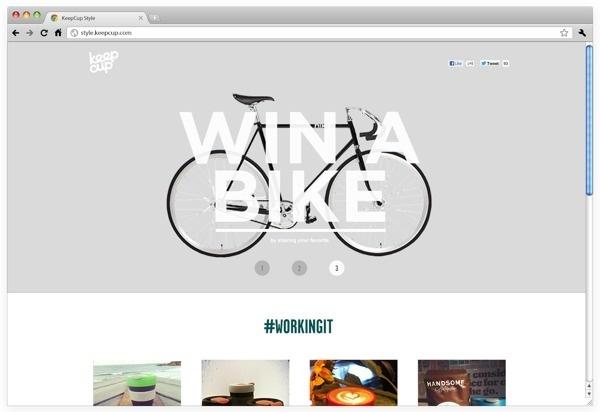 KeepCup Style #webdesign