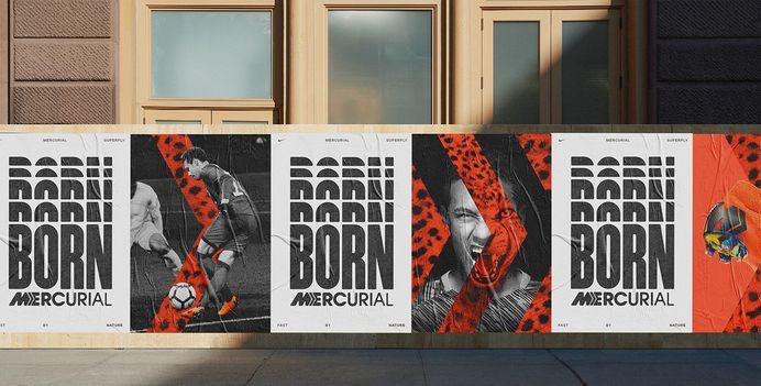 Born Mercurial on Behance