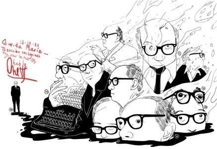 Fran! #onetti #illustration #ink #montevideo