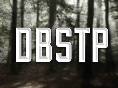 Dribbble - DBSTP 2 by Ari #music #forrest #dubstep #typography